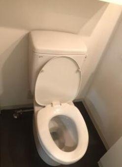 洗面台付きのトイレです☆