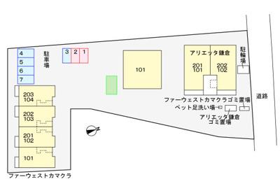 【区画図】ファーウエスト鎌倉