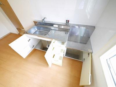 【キッチン】グランシャリオ左京