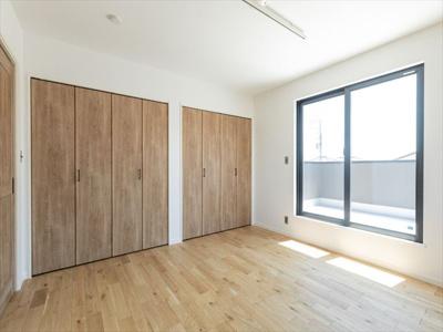 2階主寝室(イメージです)。