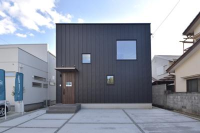 【外観】甲斐市長塚Ⅱ建売住宅「ZERO-CUBE+BOX」