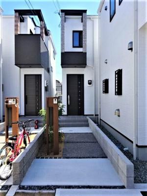 【外観】■成約済■神戸市垂水区坂上2丁目 B号地 新築戸建