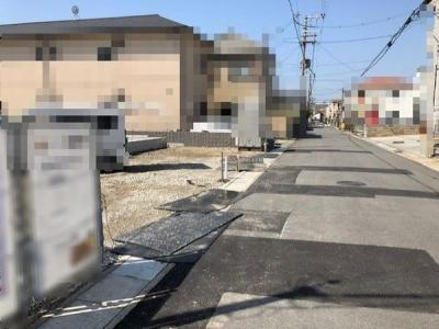 【前面道路含む現地写真】■成約済■神戸市垂水区坂上2丁目 B号地 新築戸建