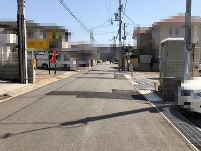 【前面道路含む現地写真】《》神戸市垂水区坂上2丁目 C号地 新築戸建