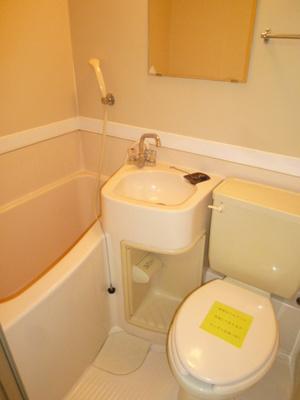 お風呂、洗面台、おトイレ