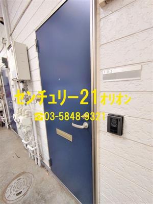 【玄関】ビレッジ練馬