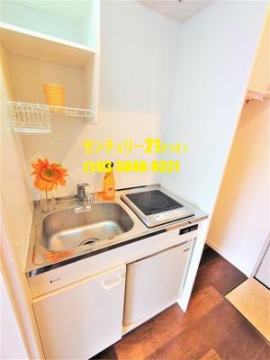 【キッチン】ビレッジ練馬(ネリマ)-2F