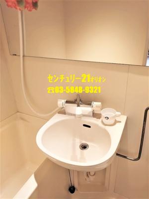 【洗面所】ビレッジ練馬(ネリマ)-2F