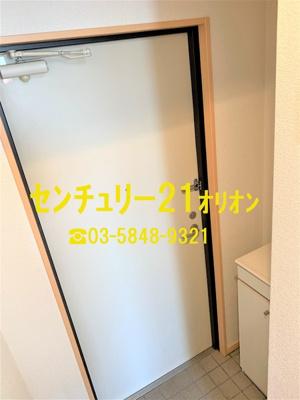 【玄関】笹山ハイツ