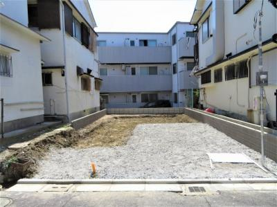 【外観】池田市石橋2丁目 新築戸建 1号棟