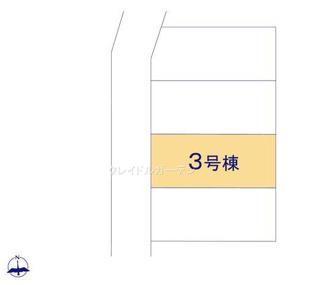 【区画図】新築《全4棟》新潟市西区五十嵐2の町第1 3号