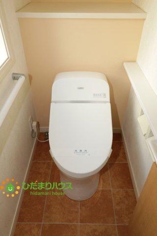 【トイレ】幸手市東5丁目 中古一戸建て