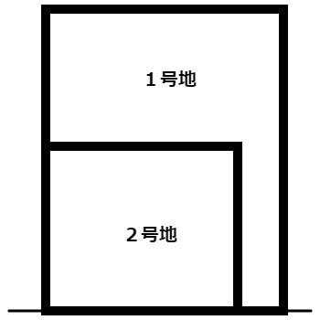 【区画図】膳所1丁目 1号地