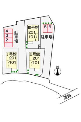 【区画図】グラシデアⅢ号館