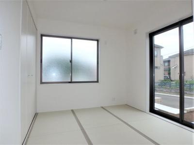 【和室】リーブルガーデン 新築戸建て 羽生市神戸2期-全2棟-