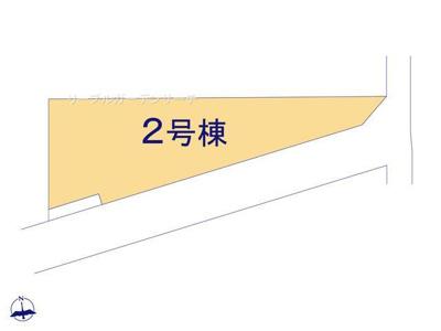 【区画図】リーブルガーデン 新築戸建て 羽生市神戸2期-全2棟-