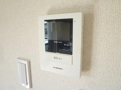 安心のTVモニタ付きインターホン!
