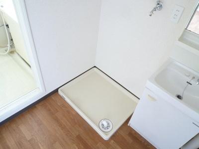 室内洗濯機置場あり!