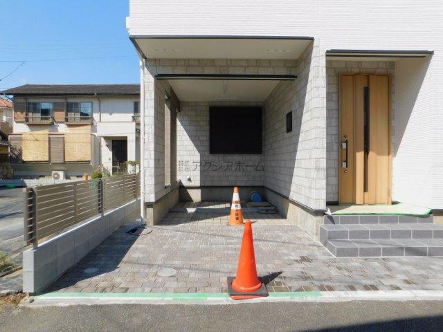 【駐車場】所沢市東住吉・全2棟 新築一戸建 B号棟~駐車2台可~