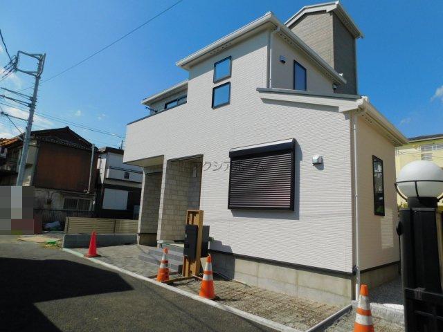 【前面道路含む現地写真】所沢市東住吉・全2棟 新築一戸建 B号棟~駐車2台可~