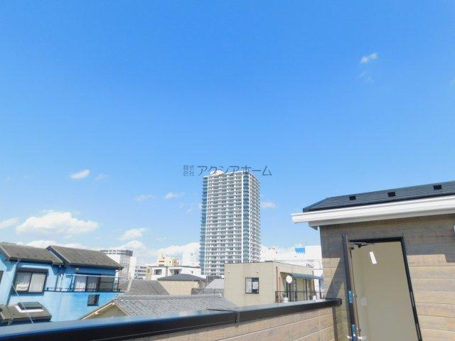 【展望】所沢市東住吉・全2棟 新築一戸建 B号棟~駐車2台可~