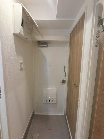 玄関部分です。 たっぷり収納できるシューズインクローゼット付♪