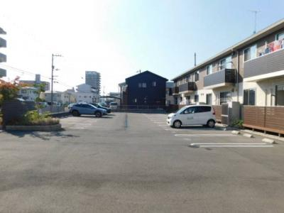 【駐車場】アルフラットひめばらA・B