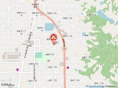 【地図】アルフラットひめばらA・B
