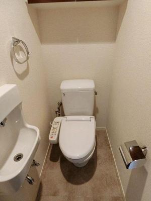 【トイレ】目黒東山シティハウス