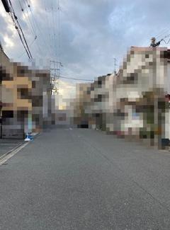 【前面道路含む現地写真】西淀川区大和田3丁目 売土地(建築条件付)