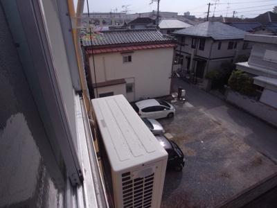 【バルコニー】西川マンション