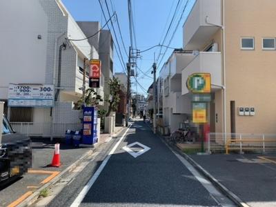 安定した賃貸需要が見込める早稲田エリア(2021.9.24撮影)。