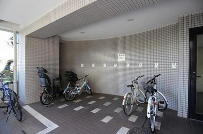 駐輪場です。空き状況はお問い合わせ下さい。