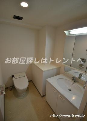 【トイレ】プレールドゥーク新宿御苑