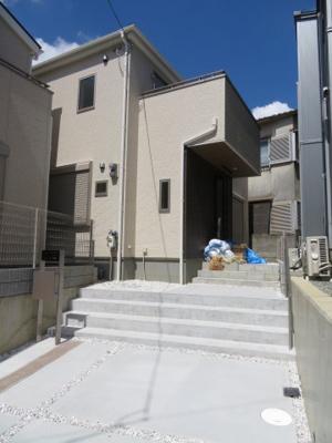 【外観】箕面市稲5丁目 新築戸建 3号棟