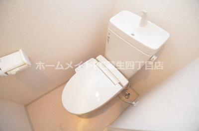 【トイレ】Luxe都島北Ⅱ