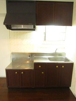 ガスコンロ設置可能のキッチンです☆ご自身でお好きなタイプのガスコンロをご用意いただけます!自炊生活で楽しく健康に!