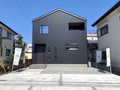 【外観】甲斐市玉川新築建売住宅「ZERO-CUBE SIMPLESTYLE」