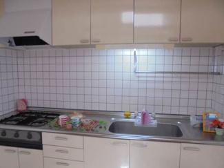 【キッチン】越智ハイツ