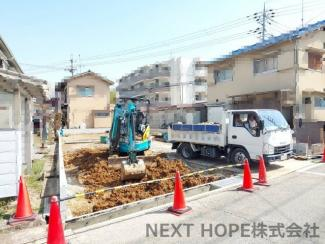 令和3年3月23日現在:造成中です♪陽当りの良い立地です(^^)完成予定は令和3年5月下旬です!ぜひ現地・周辺環境を見に行きませんか?