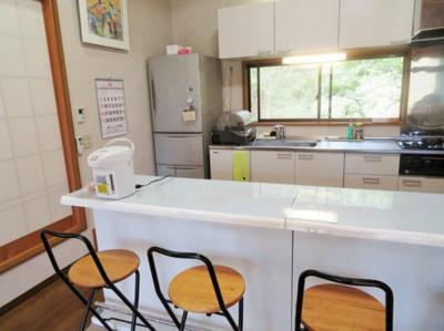 【キッチン】熱海市網代 貸別荘
