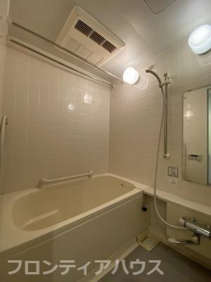 【浴室】ジークレフ六甲の丘A棟