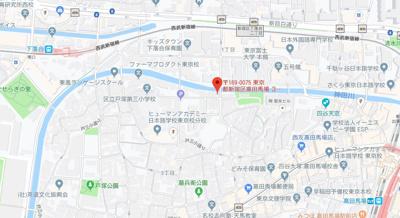 【地図】コージー高田馬場