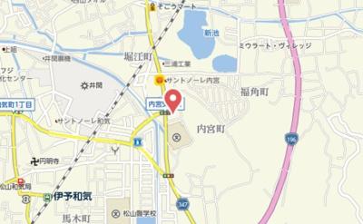 【地図】ファイン内宮