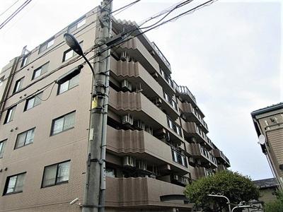 マイキャッスル光が丘、7階建ての2階部分のお部屋になります。