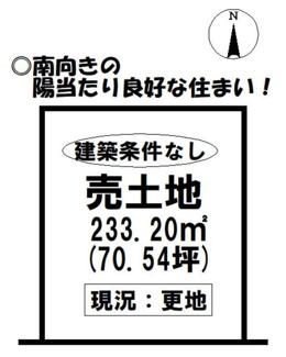 安八郡神戸町 売地 建築条件はございません。 更地渡し