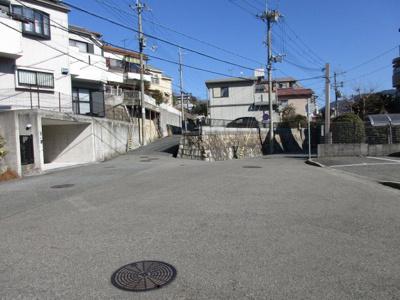 【前面道路含む現地写真】神戸市北区花山台