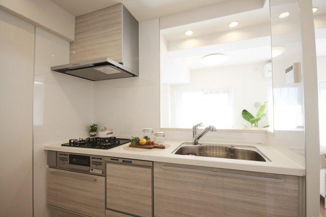 キッチンです 奥様の時間を有効活用できる食器洗浄乾燥機付き