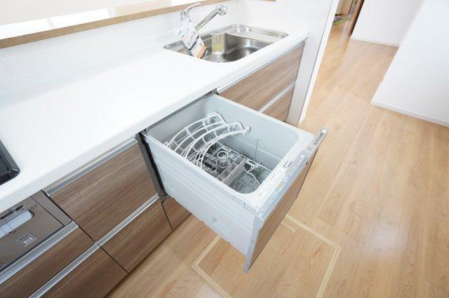 食洗機があり家事の時短になって嬉しいですね。