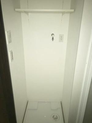 ラプティメゾン 洗濯機置き場